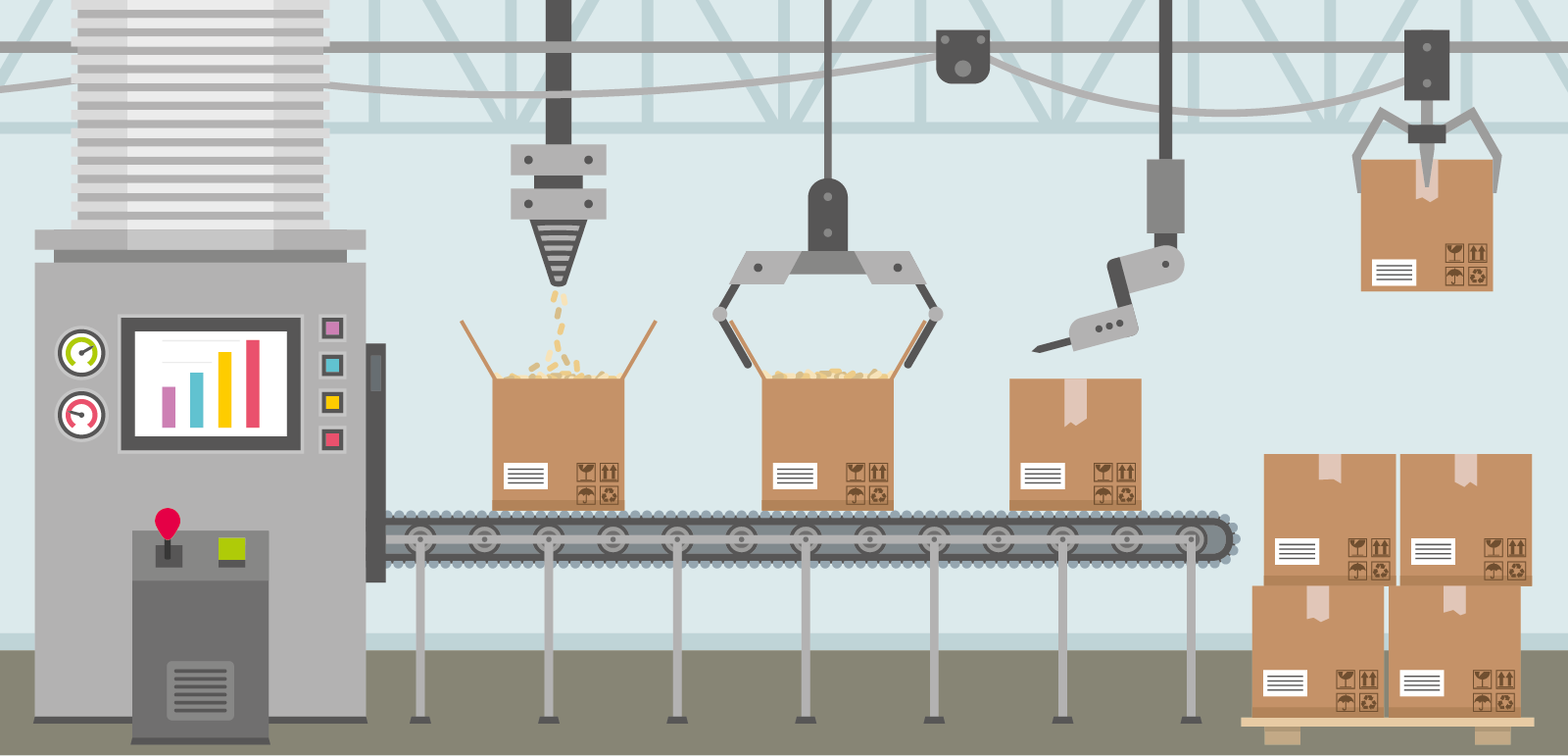 Advantages And Disadvantages Of Different Conveyor Systems Ocs