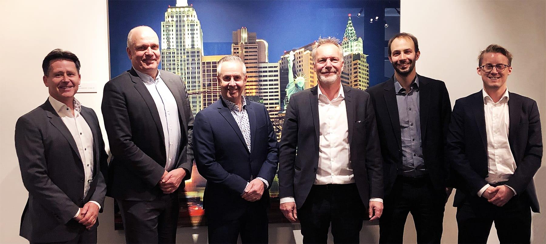 From left: Christer Lundgren, Hans Glemstedt, Kenth Almqvist, Martin Malmvik, Mathias Frunz och Gustav Nilsson